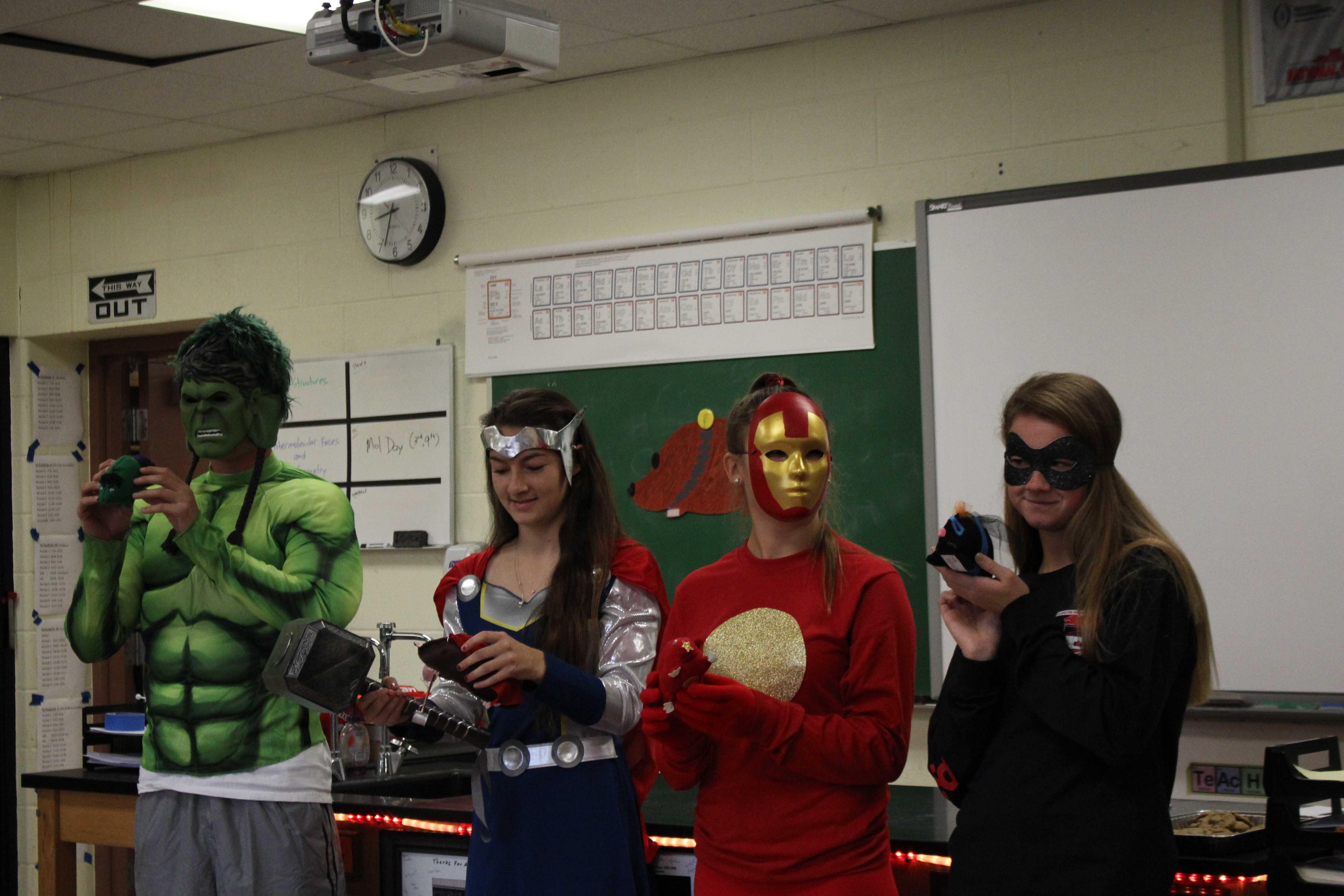 Chemistry students celebrate Mol Day     The Student Prints