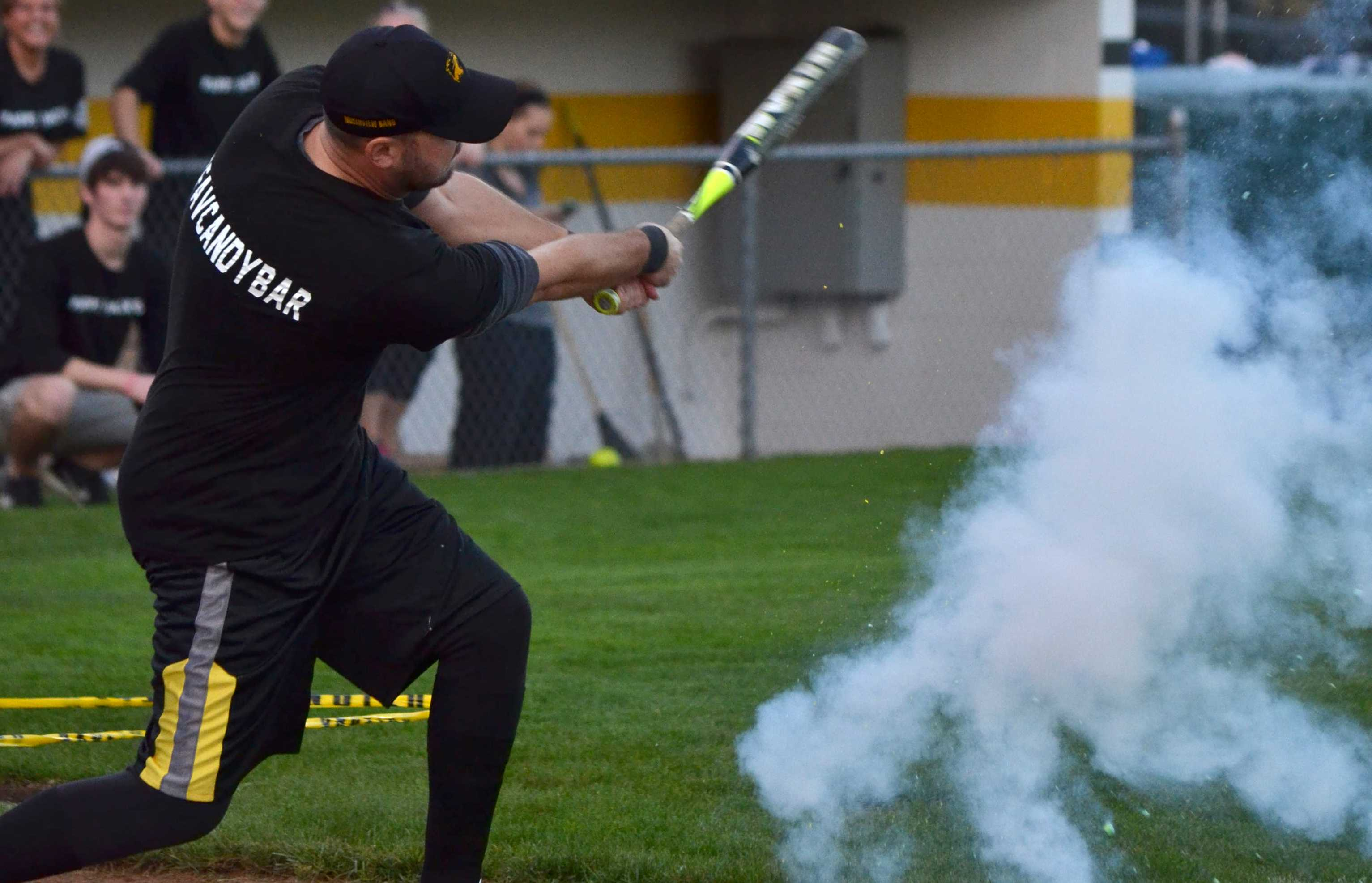 Teachers play charity softball match to raise money for Victory Center