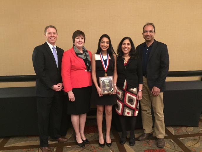 Rao+wins+Franklin+B.+Walter+All-Scholastic+Award