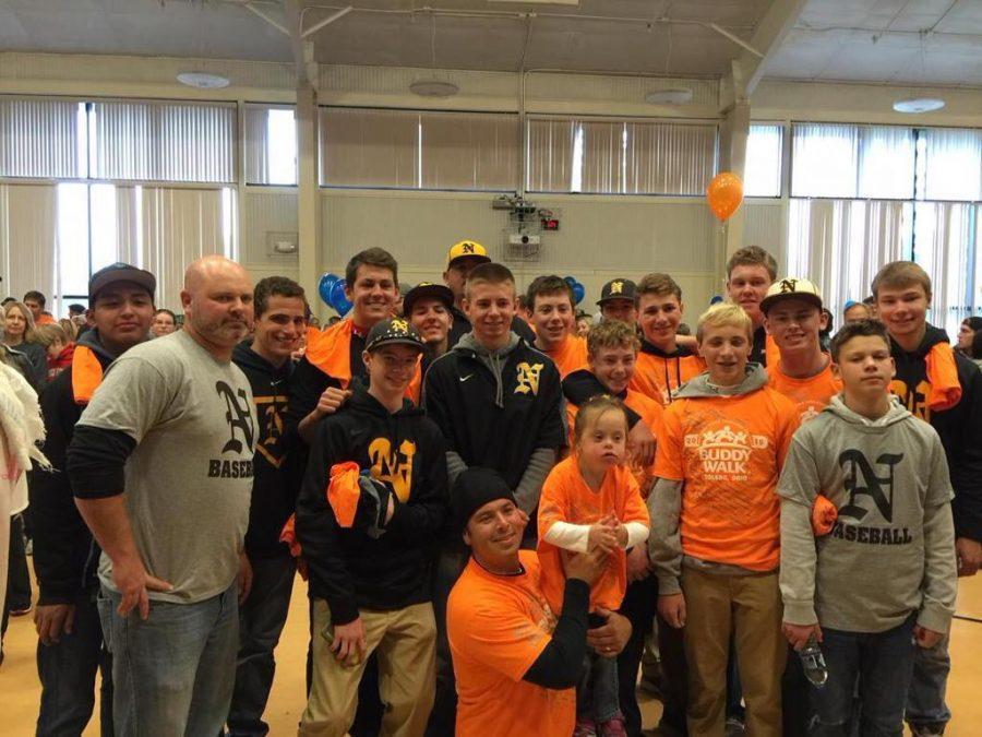 NV+Baseball+team+helps+raise+money+at+Buddy+Walk