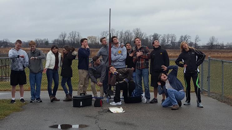 NASA+SL+Team+Prepares+for+Launch