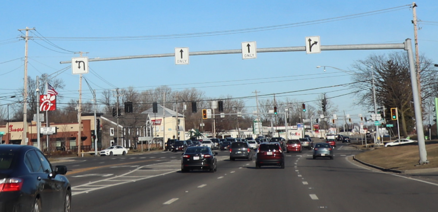 The intersection of Central Avenue and McCord Road, where the project will take place.
