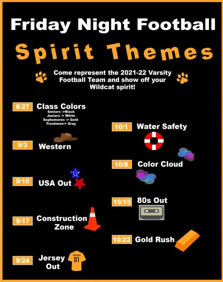 Friday Night Football Spirit Themes
